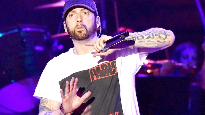 Eminem Sends Shots At Iggy Azalea And 'Milli Vanilli Hip-Hop' On Griselda Record's 'Bang' Remix