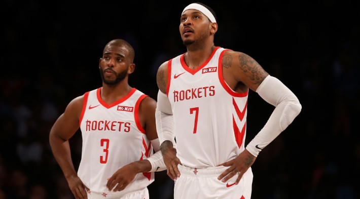 Carmelo Anthony Warned Chris Paul To 'Be Careful' After His Rockets Stint