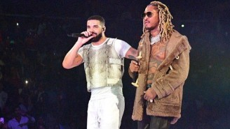Drake And Future Were Seen Serving McDonald's While Reportedly Shooting A Video