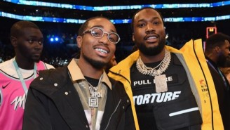 Migos' Quavo Is Now In A Partnership With Meek Mill And The Hat Company Lids