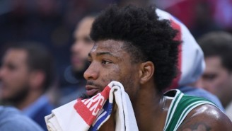 Marcus Smart's Eye Infection Has Apparently Spread To His Other Eye
