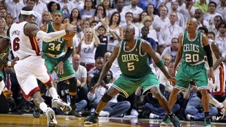 Kevin Garnett Claims The Celtics 'Broke' LeBron James