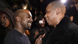 Kanye West And Jay-Z Seem To Have Moved Past Their Beef At Diddy's Birthday Party