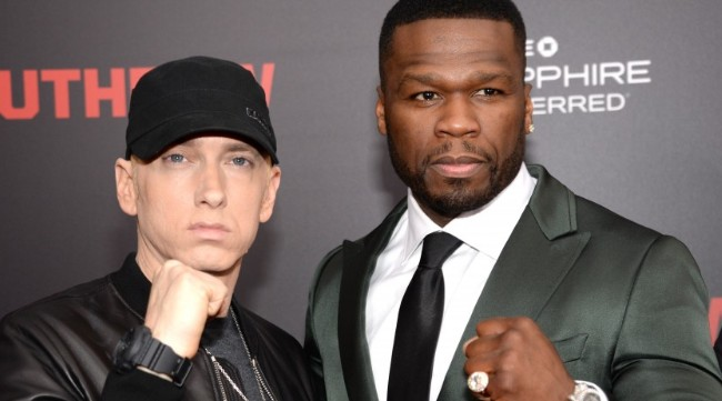 """50 Cent Backs Eminem In His Beef With Nick Cannon, Calling Cannon's Diss Track 'Trash"""""""