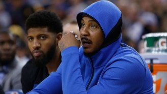 Paul George Hates The 'Narrative' Around Carmelo Anthony's Return But Is Happy He's Back