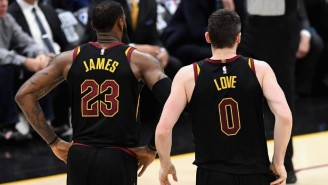 Kevin Love Thought LeBron's Fit In Tweet Was Passive-Aggressive, But 'I Did Have To Find My Way'