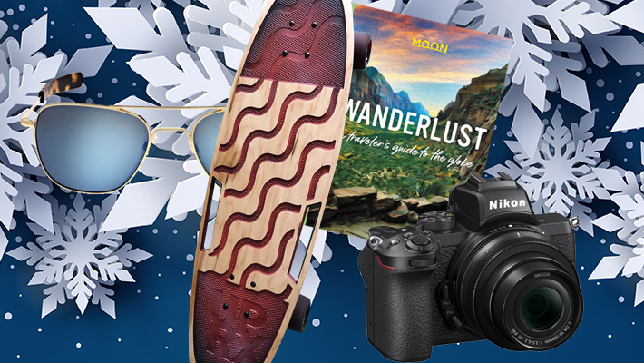 These Holiday Gifts For Travelers Will Inspire And Support Years Of Adventuring