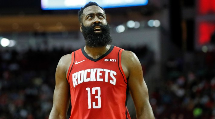 The Rockets Hope The NBA Does Something About James Harden's Controversial Dunk Against The Spurs