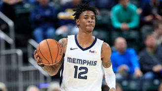 Ja Morant Put An Exclamation Point On Memphis Beating Phoenix By Dunking On Aron Baynes