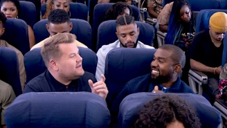 James Corden Discusses How Kanye West Made The Airplane 'Carpool Karaoke' Episode Happen