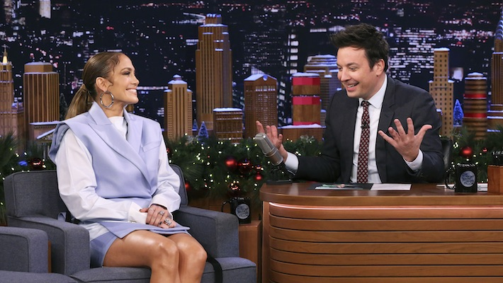 Jennifer Lopez Teases Her Super Bowl Performance With Shakira On 'The Tonight Show'
