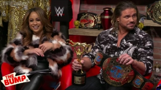 John Morrison's First WWE Appearance In Eight Years Was On The YouTube Talk Show 'The Bump'