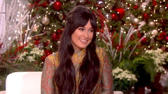 Kacey Musgraves Has A Somber Time Performing 'Christmas Makes Me Cry' On 'Ellen'