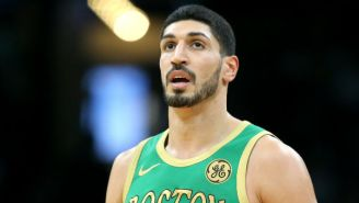 Enes Kanter Will Play In Toronto On Christmas Day Thanks To The Canadian Government