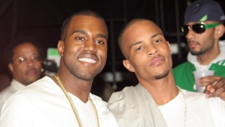 Kanye West Believes T.I.'s Comments About His Daughter's Virginity Are 'God-Approved'