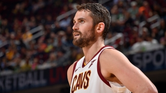 The Cavs Are Reportedly Ready To Listen To Offers For Kevin Love