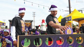 How NBA Players And Teams Gave Back For The Holidays