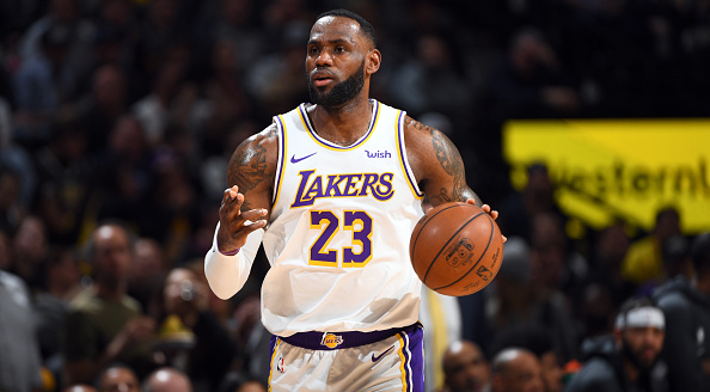 LeBron James Committed The Most Egregious Uncalled Travel Of The Young Season