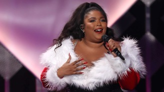 Lizzo And Lil Nas X-Themed Christmas Sweaters Are Here To Put Some 'Juice' Into Your Holiday Wardrobe