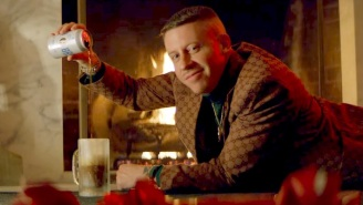 Macklemore Is Full Of Holiday Cheer In His 'Home Alone'-Inspired 'It's Christmas Time' Video