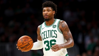 Marcus Smart Opened Up About A Celtics Fan Hurtling Racist Slurs At Him