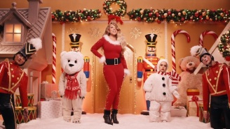 Mariah Carey And Three Christmas Songs Over 55 Years Old Are At The Top Of The Hot 100 Chart