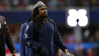 Marshawn Lynch Suited Up In The Debut Game For His Team In The New Fan Controlled Football League