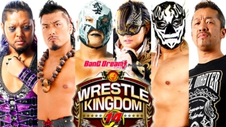 New Japan Pro Wrestling Added Pre-Show Matches To Both Nights Of Wrestle Kingdom 14