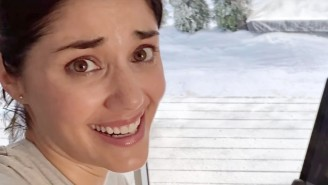 The Actress In The Peloton Commercial Blames Her 'Scared' Face For The Ad Going Viral