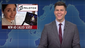 'SNL Weekend Update' Covered Peloton Lady, Papa John's Divorce And Impeachment