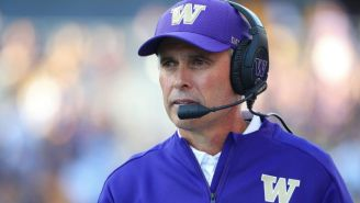 Chris Petersen Has Stepped Down As Washington's Head Football Coach
