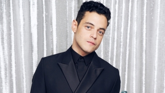 Rami Malek's Bond Villain Steps Out With A First-Look Character Poster For 'No Time To Die'