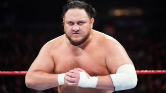 Samoa Joe Is Sticking Around On Commentary For WWE Raw