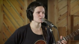 Big Thief Play 'Not' And 'Cattails' In An Intimate Studio Performance