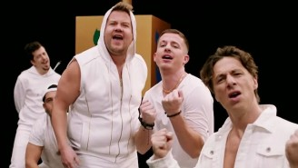 Charlie Puth, Zach Braff, James Corden, And More Form The Hanukkah Parody Boyband Boyz II Menorah