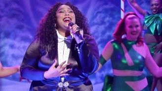 Lizzo Brought Infectious Positivity To Her Glammed-Out 'SNL' Debut Performance