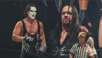 Sting Is Still Up For A Match With The Undertaker