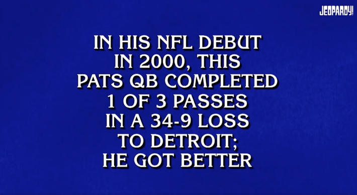 'Jeopardy!' Contestants Really Struggled With A New England Patriots-Themed Category