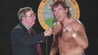 Wrestling Legend Tracy Smothers Announced That He's Battling Cancer