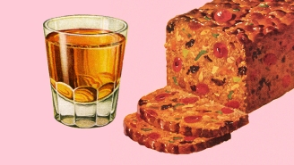 We Asked Bartenders For The Best Spirits To Pair With Fruitcake