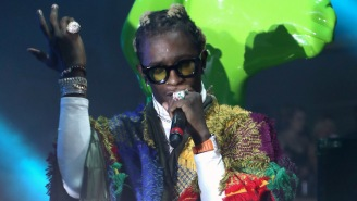 Young Thug Releases His 'Slime & B' Mixtape With Chris Brown