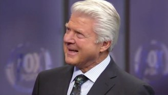 An Emotional Jimmy Johnson Was Surprised Live On Air With His Pro Football Hall Of Fame Induction
