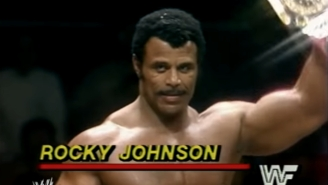 The Rock Posted A Moving Tribute To His Father Rocky Johnson