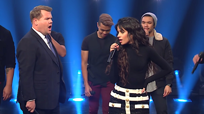 Camila Cabello Challenged James Corden To Sing 1999 Hits On 'The Late Late Show'