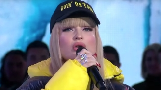 Kim Petras Delivers An 'Icy' Performance Of Her Hit Song On 'Good Morning America'