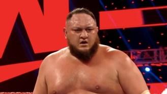 Samoa Joe Suffered A Real Injury On WWE Raw