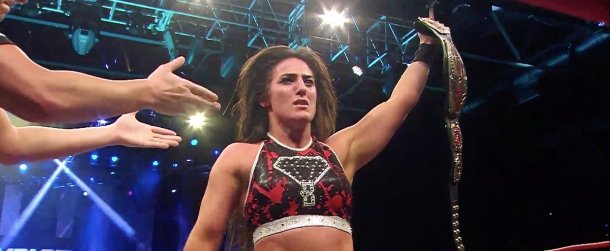Tessa Blanchard Became The Impact Wrestling World Champion, Amid Controversy And Online Allegations