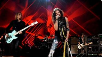 Aerosmith Rocks Out With Run-DMC For A Roaring Grammys Performance Of 'Walk This Way'