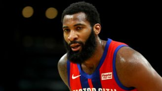 The Hawks And Pistons Are Reportedly 'Engaged' In Andre Drummond Trade Discussions