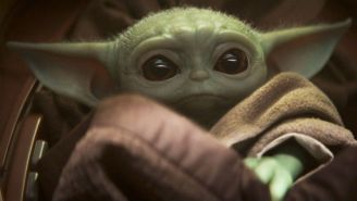 Star Wars Fans Loved A Picture Of George Lucas Holding Baby Yoda From 'The Mandalorian'